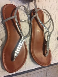 pair of brown leather sandals Orlando, 32803