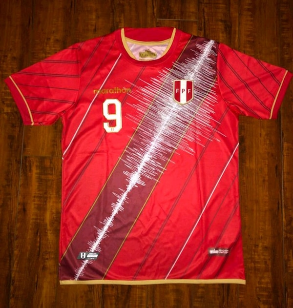 Perú 2019 jersey Paolo Guerrero Size available M&L