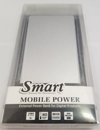 Power Bank - Silver - Charger Las Vegas