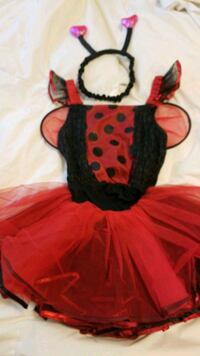 Ladybug Halloween costume 7/8 Pitt Meadows, V3Y 1H4