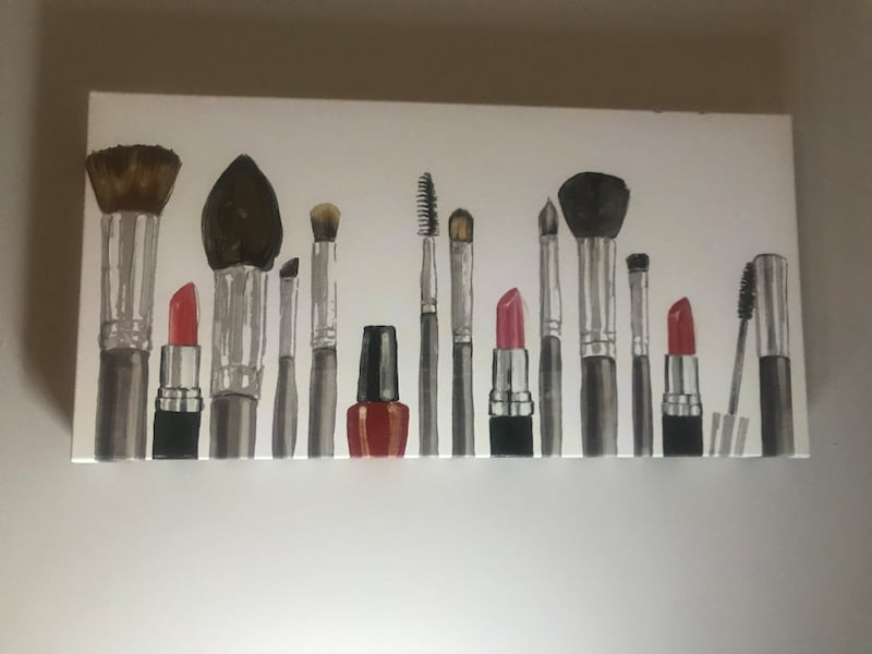 Makeup wall decor 1