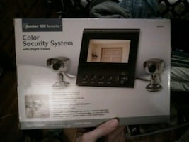 Color security camras with night vision