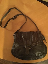 Danier gray leather bag Toronto