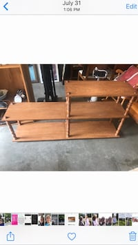 Ashwood display rack excellent condition