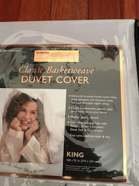 classic basketweave duvet cover king Baltimore, 21214