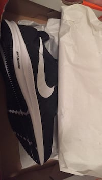 White and black nike shoes Warr Acres, 73122