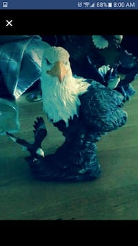 bald eagle ceramic figurine Peosta, 52068
