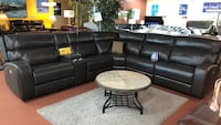 Top grain leather power reclining sectional  Portland, 97230