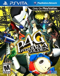 Persona 4 Golden - Playstation Vita Toronto, M1P 4P5