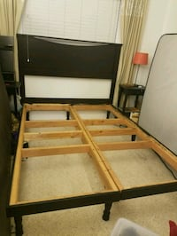 Queen size bed frame with headboard Los Angeles, 90036