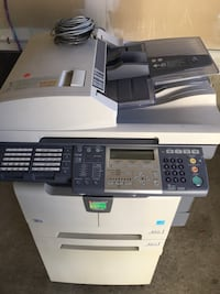 Gray and black brother photocopier machine Ajax, L1S