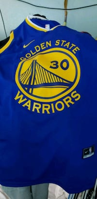 Nike Curry Jersey shirt ordered the wrong size San Francisco, 94110