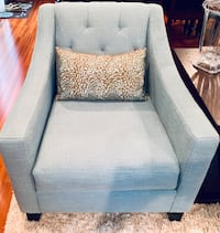 Custom Teal Tufted Chairs Alexandria, 22312