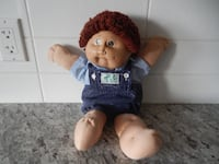 1985 Cabbage Patch Doll. *Please Note* He does have some surface marks/wear but still in great shape for his age. $25 PU Morinville