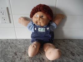 1985 Cabbage Patch Doll. *Please Note* He does have some surface marks