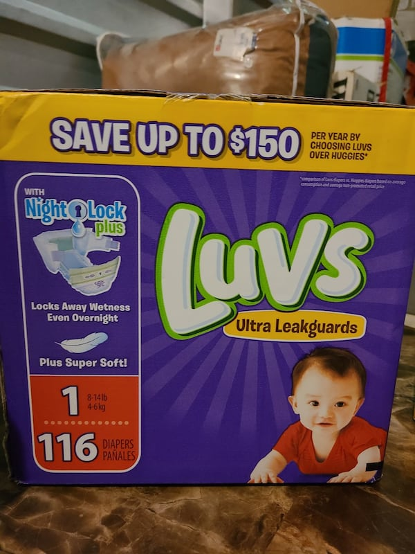 Assorted Diapers  5057b627-5330-4801-beab-0911b7afd537