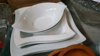 white ceramic bowl with lid Chestermere, T1X 1S5