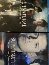 Supernatural Blu Ray S1&2 North Platte, 69101