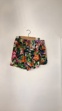 green, yellow, and red floral shorts Toronto, M9N 1V8