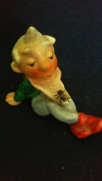 MADE IN 1930's GERMANY NOME FIGURINE WITH FLY ON