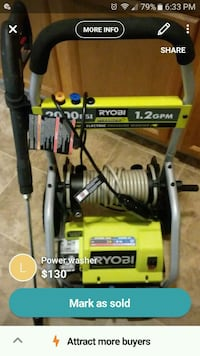 Power washer 2000 psi Middle River, 21220