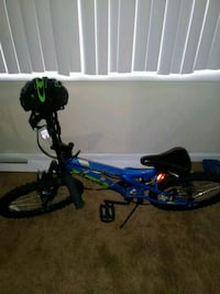 blue and green full-suspension bike Suitland-Silver Hill, 20746