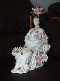 VINTAGE CHINESE oriental PORCELAIN LADY/WOMAN ,141 Mississauga