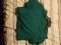 green scoop neck shirt 2084 mi
