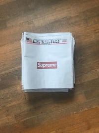 Supreme x New York post newspapers  Rockville, 20853