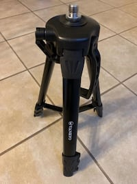 Black and gray elliptical trainer
