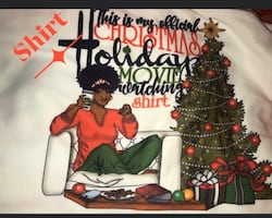 Afrocentric Holiday relax set! Blanket, pillow, shirt and mug.