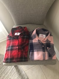 Girls Plaid Tops from Justice Size 18-20