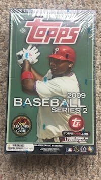 2009 baseball series 2 topps wax hobby box factory sealed NIB Broken Arrow, 74014