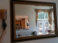 Large mirror with two wall candleholders Fairfax, 22033