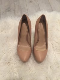 Size 7.5 nude heels (extreme height) Toronto, M1P 5C4