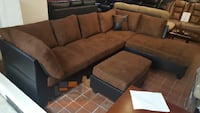 Brand new sectional sofa with ottoman and two accent pillows  Silver Spring, 20902