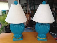 30 inch tall shell lamps  Cape Coral, 33904
