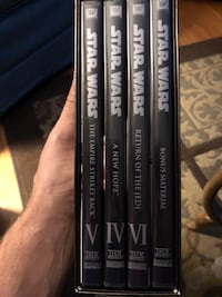 Star Wars original trilogy, 4DVDS  Acton, L7J 2Z6