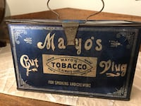 Antique Mayo's tobacco cut plug tin can handle cigarette Ottawa, K0A 3H0