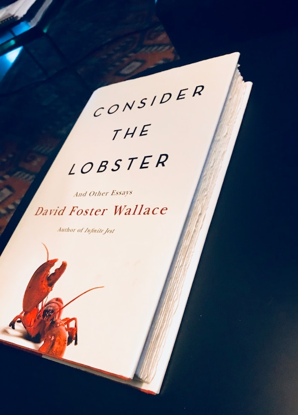 Book: Consider the Lobster by David Foster Wallace d56920a2-0d8e-4d2d-8e47-18f840cad349