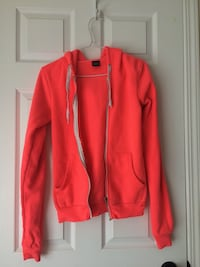 Neon Pink Zip Up Sweater Airdrie, T4B