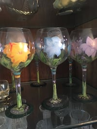 Hand painted glasses Revere, 02151