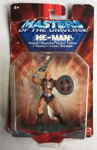 "Vintage 2002 collectible Mattel Masters of the Universe HE-MAN  Action Figure 2.75"" New/Sealed Toronto, M6N 2H4"