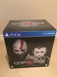 PS4 God of War Collector's Edition (New) Toronto, M2N 7B9