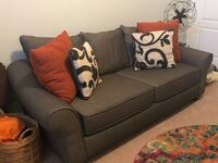 gray fabric 2-seat sofa Woodbridge, 22191