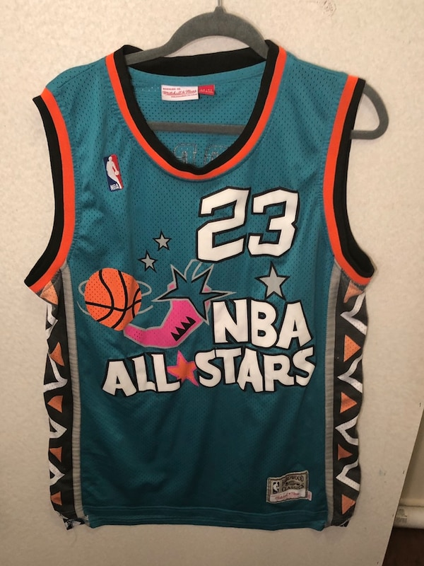 ae0f32d9477 Used blue and red Chicago Bulls 23 jersey for sale in Long Beach - letgo