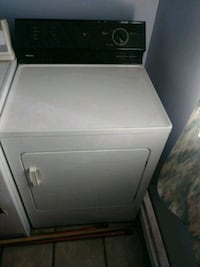 white front-load clothes washer Sherbrooke, J1C 0A1