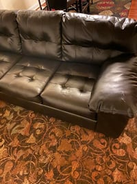 Beautiful sectional leather couch