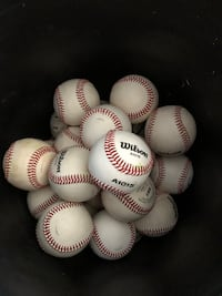 White and red baseball lot Tucson, 85706