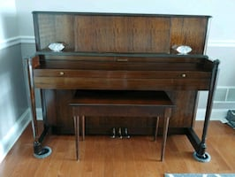 Late 1930s upright piano